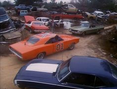 Star cars Dukes of Hazaard and Starsky & Hutch Hollywood back lot