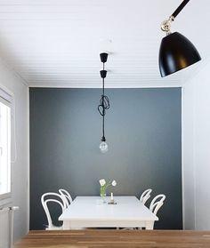 I'm in love... this view! Change is refreshing! #interior #kitchenanddining #newcoloronthewall #scandihome #scandinavian #heminredning #inredningsdesign #uuttaväriä #tikkurila #M493 #väriäelämään #värienvoimaa #skandinaviskæstetik #koti #sisustus #etuovisisustus #oikotiesisustus #inspiroivakoti #sisustusinspiraatio #boligindretning #scandinavianstyle #renovation #remontti #homeprojects by t_iinak
