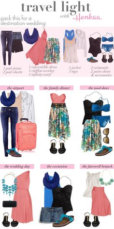 Travel Light Outfits <3
