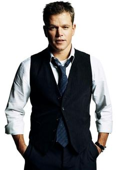 Matt Damon. Harvard smart, Oscar talented, and dedicated to his family.