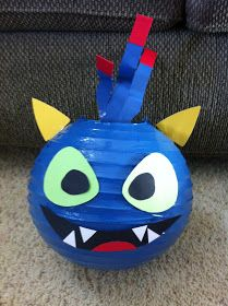 Just A Frugal Mom: Skylander Party AWESOME!!!  Can even use these as hanging from the ceiling in his room for decor