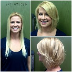 61 Ideas Hair Cuts Before And After Shoulder Length - Shoulder Length Hair Wavy Bob Hairstyles, Long Bob Haircuts, Kids Bob Haircut, Haircut Long, Before And After Haircut, Bobs For Thin Hair, Korea, Super Hair, Long Hair Cuts