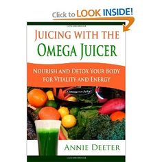 My favorite book on juicing. I really like the nutrition information section for all the fruits and veggies that you can juice.