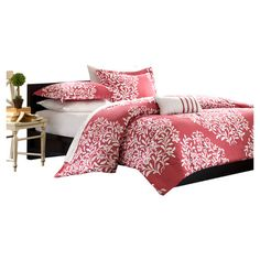 You should see this Folklore Comforter Set in Raspberry on Deals + Modern Design Ideas | AllModern