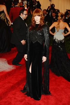Florence Welch in Givenchy Couture at the MET Gala 2013