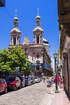 Basílica de San Francisco, el centro de Buenos Aires, Argentina, América del Sur