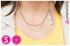Pulling at my Heartstrings necklace from Paparazzi Accessories #5dollarhabit #seriously5dollars Robyn Swensen, Paparazzi Consultant 24537