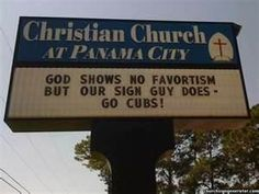 funny church signs -