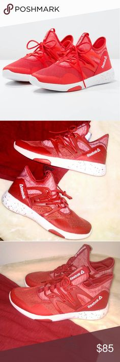 😍💖Womens Reebok Hayasu  Sz 8.5😁😄🔥🔥🔥 🔥🔥🔥🔥🔥🔥HOT LIKE FIRE🔥🔥🔥🔥🔥  SHOE OF THE SUMMER  WHAT ARE THOSE??????👀👀..Just some cool shoes  This artistic design by Reebok invokes the Asian artistry and makes this a certifiable stamped 😎FRESH😎 This goes great with yoga pants and a red tank top. Hottest shoe on the market right now. A must buy for the sunny season.  Sexy shoe for a sexy lady????  Brand New without box but original tags Orholite cushioning for soles 100% Authentic Sz…