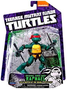 Teenage Mutant Ninja Turtles Comic Book Raphael Figure Teenage Mutant Ninja Turtles http://www.amazon.com/dp/B00MY3N3SM/ref=cm_sw_r_pi_dp_Sr5wub0NPZT4A