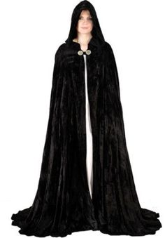 Amazon.com: Pirate Peasant Renaissance Medieval Costume Cloak Cape Robe (Black): Adult Sized Costumes: Clothing