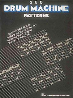 (Technical). This book is a supplement to the first volume of Drum Machine Patterns. In it you will find over 260 rhythm patterns and breaks. These are original patterns that can be programmed easily