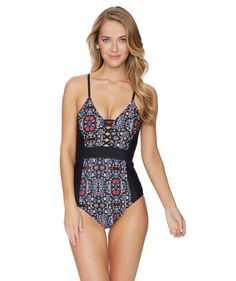 aaf3f7e4695 Find your sexy in The Ella Moss The Wanderer One Piece! This sultry one  piece
