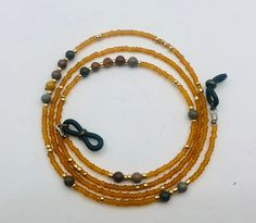 Ideal para este verano...... Jewlery, Beaded Necklace, Etsy, Special Gifts, Bead Necklaces, Jasper, Natural Stones, Lanyards, Chains
