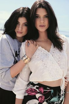Kendall & Kylie Jenner just debuted their new (affordable!) collection