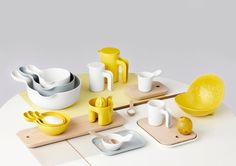 h designer Ole Jensen, the new collection of storage, cooking, and serving objects