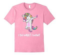i Do What i Want unicorn T-Shirt for unicorn lovers