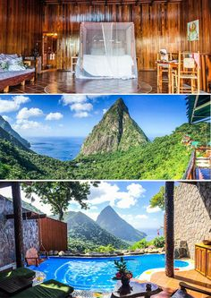 All our suites have the fourth wall missing, exposing the breathtaking view of the Caribbean Sea and World Famous Pitons. Experience a true romantic paradise.