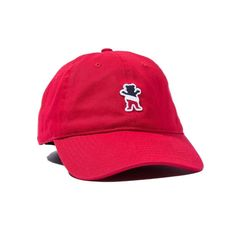 10c84edc6c2 Buy Grizzly X Champion Leader Of The Pack Dad Cap Red at the longboard shop  in The Hague