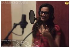 #APITConnect - Dubbing starts today for #lostandfound . it's a process which enables an actor to 'find' the moods or expressions which are 'lost' unknowingly while shooting! #actor #hardlife #dubbing #marathifilm #new #process #spruhajoshi by Spruha Joshi http://bit.ly/1n8nC4T