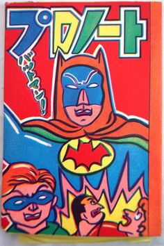 RARE 60s Japanese Small Time Toy Store Batman's Graffiti Transfer Note DC Comics   eBay