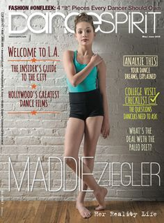 Maddie Ziegler on our May/June 2015 cover! (Photo by Lucas Chilczuk)