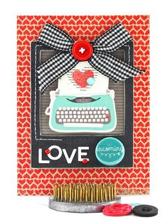 Happy Wedding Anniversary Card  Love Theme  10th by thecardkiosk