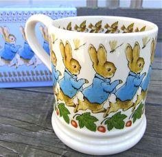 Isn't this the cutest Beatrix Potter Peter Rabbit mug.