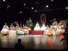 """Acto de presentación y exaltación de las Falleras Mayores 2013 de la Falla """"Calp Vell"""" de Calp."""
