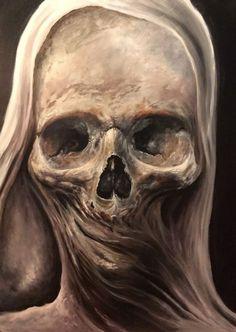 Zack Dunn (2016 - Oil on board)