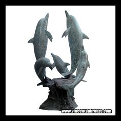 Life Size Dolphin Sculpture For more high quality bronze sculpture / Bronze Dolphin Statue /  Dolphin Sculpture
