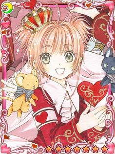 Clamp ~news and releases~ Now - CCS mobile game: the new illustrations Card Captor Sakura Clamp