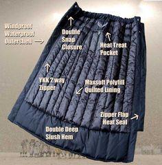 Toast Stadium Skirt snow skirt instead of snow pants?!