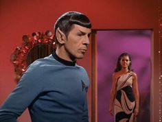 "My dream SciFi dress. Worn by the Romulan Commander on original series Star Trek episode ""The Enterprise Incident"""