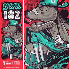 Travis Price blink 182 Tallahassee Posters http://ift.tt/2q3nCcp... #Arsetculture #Inside_the_Rock_Poster_Frame #Gig_Posters