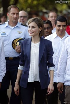 Queens & Princesses -  Queen Letizia begins the second part of her journey in El Salvador, where she will spend two days.