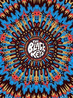 GigPosters.com - Black Keys, The - Cage The Elephant