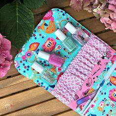 Allie and me design: Snappy Manicure Pouch ★ FreeBook ★ Ich packe meinen Koffer ...