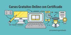 Mejores páginas web para hacer cursos online gratuitos con certificado + 10 Cursos gratuitos de Marketing Digital y Emprendimiento para hacer este verano.
