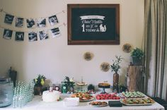 Claire's first birthday woodland party! Lots of DIY cuteness.