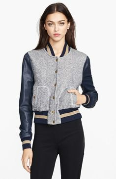 'Ryder' Baseball Jacket from Rachel Zoe