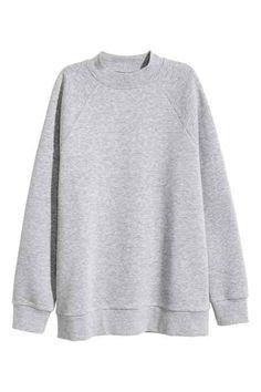 Sweater met raglanmouwen