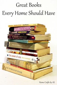 Great Books Every Home Should Have