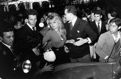 Brigitte Bardot photographed at the time she was making the film, La Femme et le Pantin, Spain, 1958.