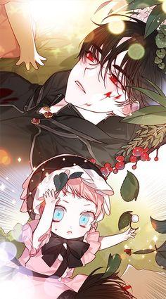 Cute Anime Chibi, Cute Anime Pics, Anime Love, Anime Siblings, Anime Couples Manga, Manga Art, Manga Anime, Anime Art, Manga English