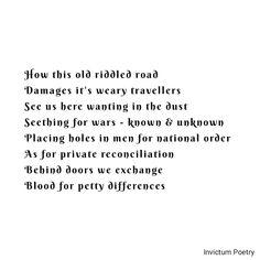 Poems About Society, Known Unknowns, Lyric Poetry, Lyrics, Song Lyrics, Lyric Art, Music Lyrics