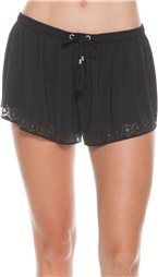 Features:     Rip Curl Summerville surf short.    Elastic waistband with tassel drawstring tie.   Laser cut detail at hemline.   Inseam: 1.75 inches.   Hand wash.   Imported.      Size & Fit Guide  Model's height: 5'10 Model's chest: 34 inches. Model's waist: 25 inches. Model's hips: 35 inches. Model is wearing size S.