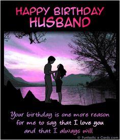 Happy birthday dear wife ecard