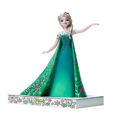 Elsa Figure by Jim Shore - Frozen Fever | Disney Store