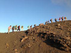 Trekking sulla cima dello Stromboli